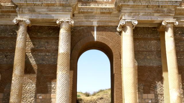 Gymnasium in Sardes (Sardes) antike Stadt in Manisa Türkei