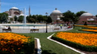 Haghia Sophia seen from the Sultanahmet Park
