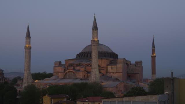 WS Hagia Sophia at dusk / Istanbul,Turkey