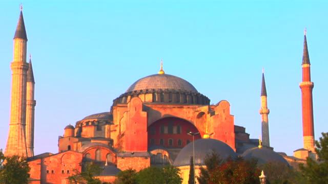 MS Hagia Sophia at sunset, Istanbul, Turkey