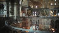 MS Hagia Sophia interior, Istanbul, Turkey