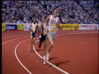 Haile Gebrselassie overtakes Craig Mottram to win Men's 5000m 2004 Crystal Palace Athletics Grand Prix London