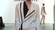 Hakan Akkaya Runway at Gallery 2 Skylight at Clarkson Sq on September 11 2017 in New York City