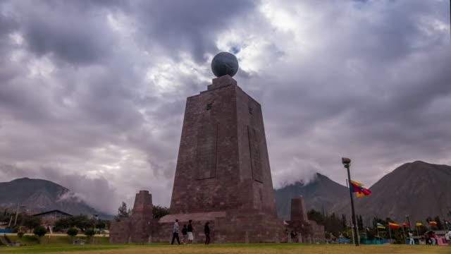 half of the world in quito ecuador timelapse