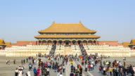 TL: Hall of Supreme Harmony in forbidden city in the morning
