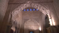 MS, LA, Hall of Two Sisters in Alhambra palace, Granada, Andalusia, Spain