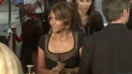 Halle Berry at the 'XMen Origins Wolverine' Screening at Hollywood CA