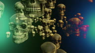 Halloween Flying Skeleton