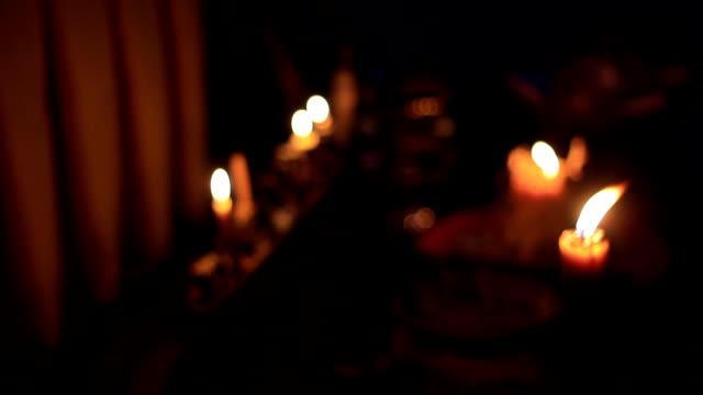 Halloween : Misty's bokeh candle 2
