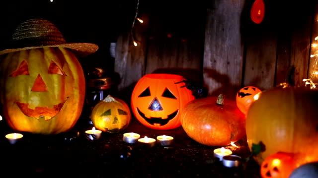 Halloween Kürbis jack-Laterne Kopf