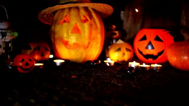 Halloween Zucca jack Lanterna testa