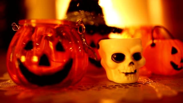 Halloween Kürbis Laterne Grimasse