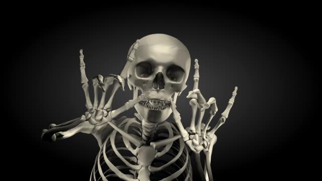 (Loop + Alpha) Halloween, Spokesman Skeleton