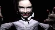 Halloween Vampire Girl - HD, sound