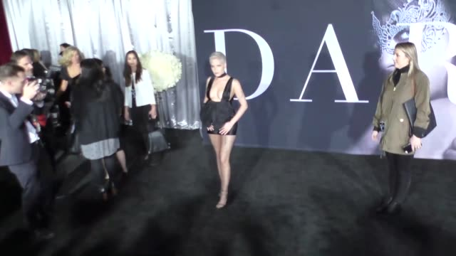 Halsey at The Universal Pictures Premiere of 'Fifty Shades Darker' on February 03 2017 in Hollywood California