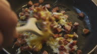 ham and eggs slow motion