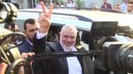 Hamas leader Ismail Haniya reiterates his party's readiness for Palestinian reconciliation upon his return from Egypt to the Gaza Strip