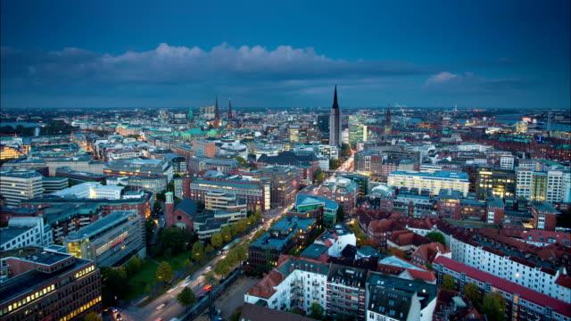 ZEITRAFFER: Hamburg, Deutschland