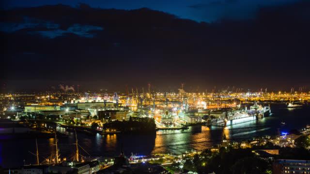 ZEITRAFFER: Hamburger Hafen