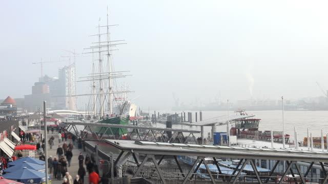 Hamburger Hafen-Zeitraffer