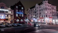 Hamburg Reeperbahn pan and tilt time lapse