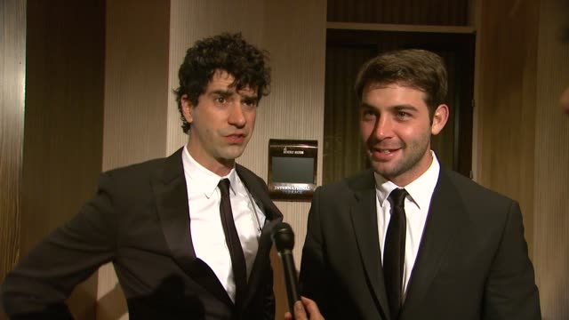 INTERVIEW Hamish Linklater James Wolk on the event at 64th Annual ACE Eddie Awards in Los Angeles CA