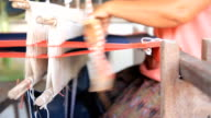 Hand loom manufacture