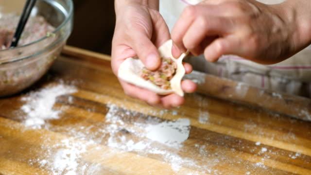 hand make gyoza
