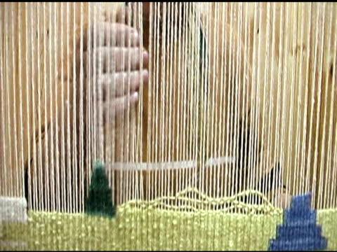 Hand Weben Seidenteppiche in der Türkei