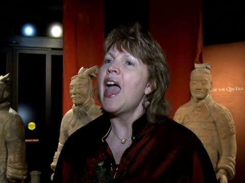 A handful of the thousands of terra cotta warriors sculpted to protect the tomb of ChinaÕs first Emperor Qin Shihuangdi touched down in Washington at...