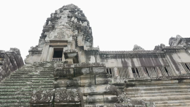 Handheld Video von Angkor-Wat-Architektur