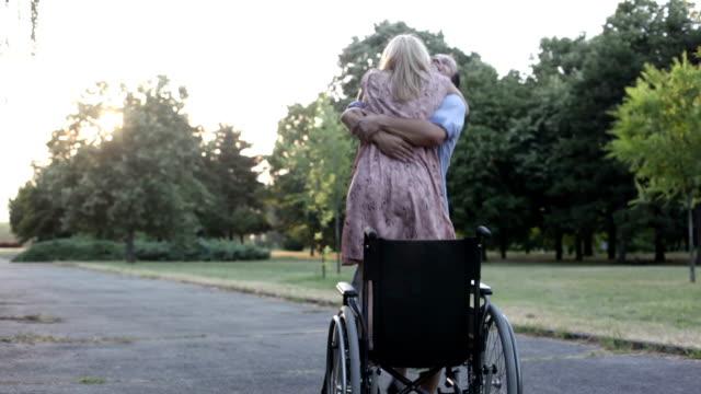 Handicapped Couple.
