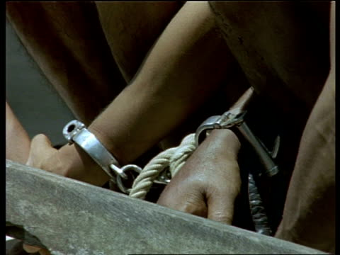 CU hands of poachers in handcuffs, India