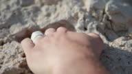 C/U hands, rock climbing