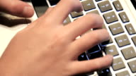 Hands Typing On Keyboard-Audio