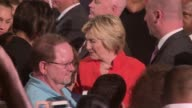 Handshakes and selfies Earlier Hillary Clinton holds a campaign rally in Kissimmee Florida Seddique Mateen the father of Omar Mateen the man who...