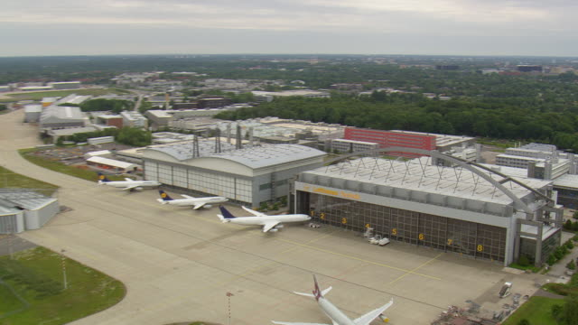 MS AERIAL ZO Hanger of Lufthansa Technik / Germany