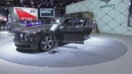 WS hanging Bentley sign ZOWS Mulsanne revolving on turntable / CU LA front end / CU rear end / CU Speed fender script / CU steering wheel dashboard /...