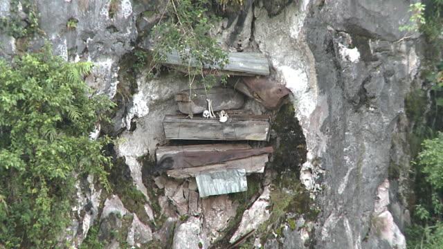 Hanging Coffins at Sagada, Philippines