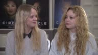 INTERVIEW Hanna Asp Leona Axelsen on Benny Andersson ABBA at 'The Circle' Interview 65th Berlin Film Festival on February 11 2015 in Berlin Germany