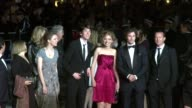 Hannah Murray Imogen Poots Matthew Aaron Johnson at the The Housemaid Red Carpet Cannes Film Festival 2010 at Cannes