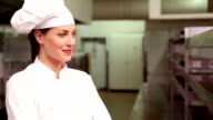 Happy chef smiling at camera