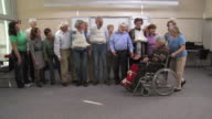 HD: Happy First Aid Class Of Injured Seniors