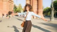 Happy in Barcelona