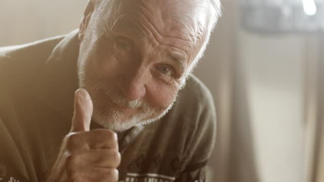 Happy senior carpenter