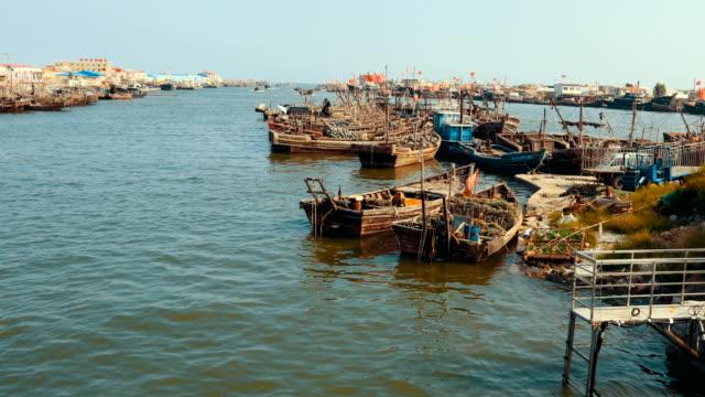 Harbor Fishing Boat