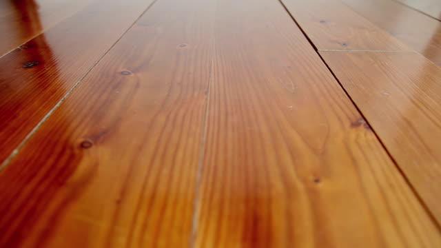 DOLLY: Hardwood floor