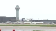 O'Hare Airport's new runway opened up Runway 10 Center is over 10000 feet long and 200 feet wide and is expected to handle flight arriving and...