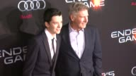 Harrison Ford Asa Butterfield at 'Ender's Game' Los Angeles Premiere in Hollywood CA on