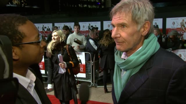 Harrison Ford on the script and what attracted him to the role at the Morning Glory UK Premiere at London England